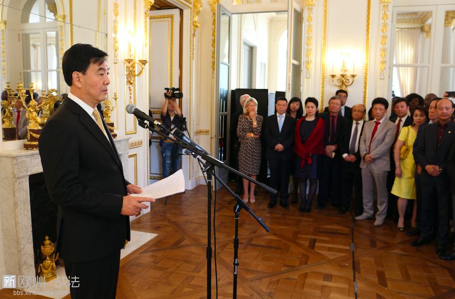驻法国大使馆举行庆香港回归20周年招待会