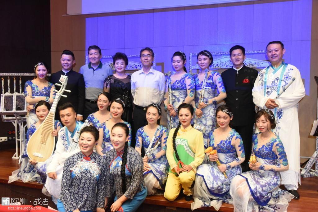 江西省歌舞剧院瓷乐艺术团办巴黎专场演出