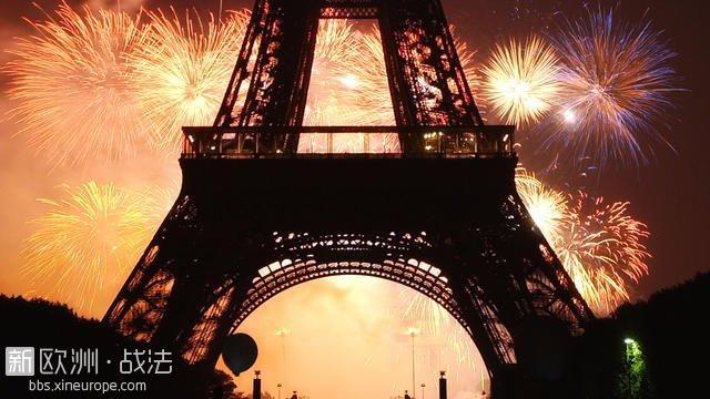 巴黎国庆烟花最佳观赏地点及实用攻略