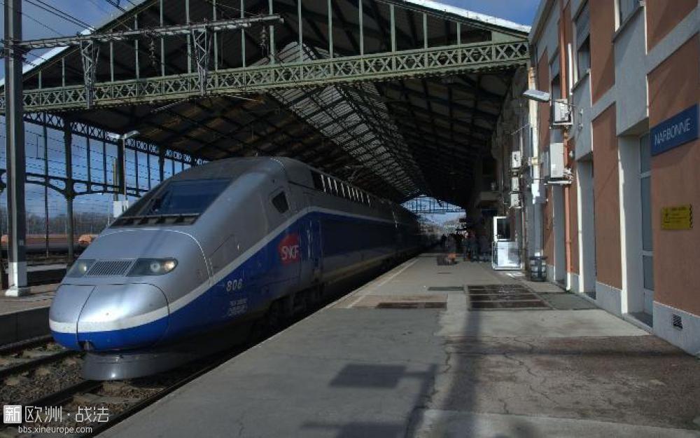 法国高铁2小时车程却晚点7小时
