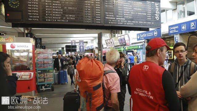 法国南部火灾!3千旅客被迫整夜滞留火车站