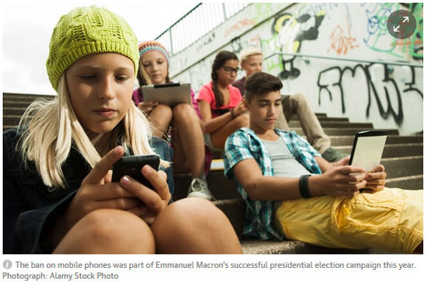 校园手机禁令被质疑:学生、家长、学校均不买账