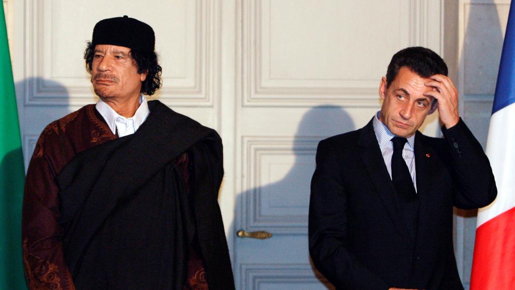 萨科齐涉政治献金案被拘:与卡扎菲的恩怨情仇