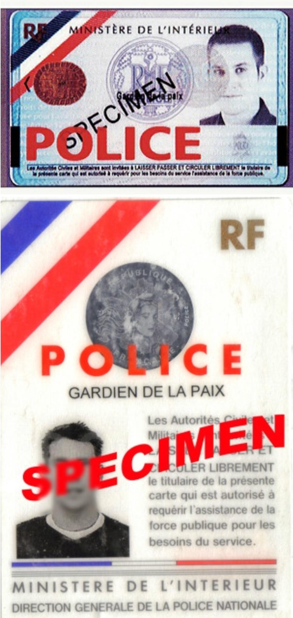 法国连发多起假警察持枪劫案 注意鉴别真伪证件